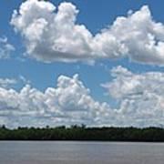 Mississippi River Art Print