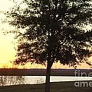 Mississippi Sunset 12 Art Print