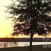 Mississippi Sunset 13 Art Print