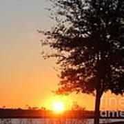 Mississippi Sunset 4 Art Print
