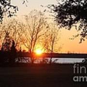 Mississippi Sunset 9 Art Print