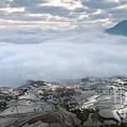 Mist And Cloud Art Print