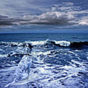 Mister Kallinski And The Sea Art Print