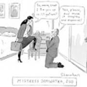 Mistress Dominatra Art Print