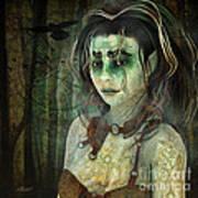 Mistress Of The Dark Woods Art Print
