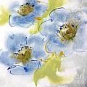 Misty Blue II Art Print