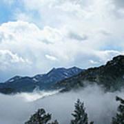 Misty Mountain Colorado Art Print