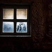 Misty Window Art Print