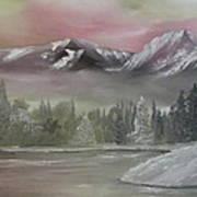 Misty Winter Art Print