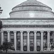 Mit Building 10 And Great Dome II Art Print