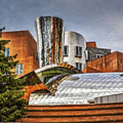 Mit Stata Building Center - Cambridge Art Print