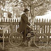 Mitchell Motorcycle Circa 1907 Art Print