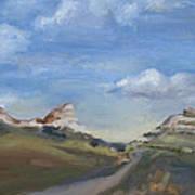Mitchell Pass Western Nebraska Art Print
