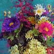 Mixed Bouquet Art Print