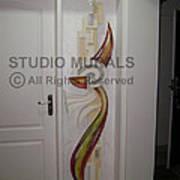 Mixed Media Mural Art Print