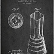 Mixer Patent From 1937 - Dark Art Print