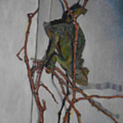 Miyabi The Chameleon Art Print