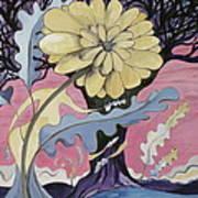 Miz Fleur Art Print