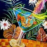 Miz Martini Art Print