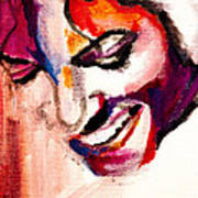 Mj Impression Art Print by Molly Picklesimer