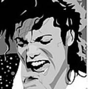 MJ Art Print by Jayakrishnan R