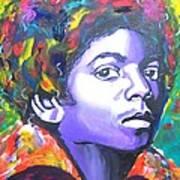 MJ Art Print by Jonathan Tyson