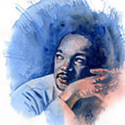 Mlk Day Art Print
