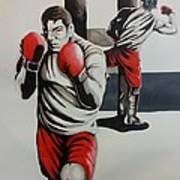 Mma Training Art Print
