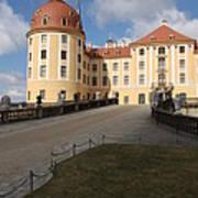 Moated Castle Moritzburg Art Print