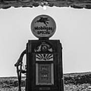 Mobilgas Pumps Art Print