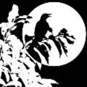 Mockingbird Moon Art Print