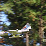 Model Jet Art Print