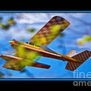Model Plane 2 Art Print