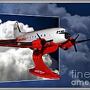 Model Planes Dc3 01 Art Print