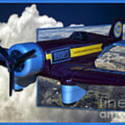 Model Planes Hershey 01 Art Print