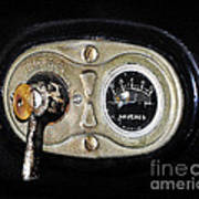 Model T Control Panel Art Print by Al Powell Photography USA