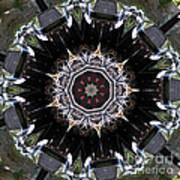 Model T Kaleidoscope Art Print