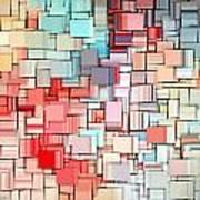 Modern Abstract X Art Print