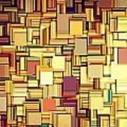 Modern Abstract Xxi Art Print