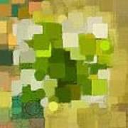 Modern Abstract Xxxv Art Print