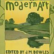 Modern Art 1895 Art Print
