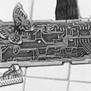Modern Camouflage Art Print