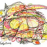 Modern Drawing Seventy-eight Art Print