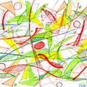 Modern Drawing Seventy-three Art Print