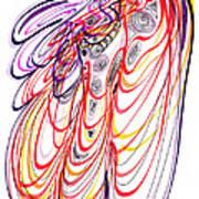Modern Drawing Sixty-three Art Print