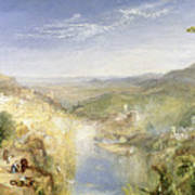 Modern Italy - The Pifferari, 1838 Art Print