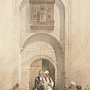 Modern Mansion, Showing The Arabesque Art Print