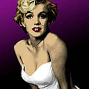 Modern Marilyn Art Print