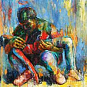 Modern Pieta 2 Art Print