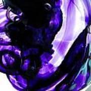 Modern Purple  Art Print